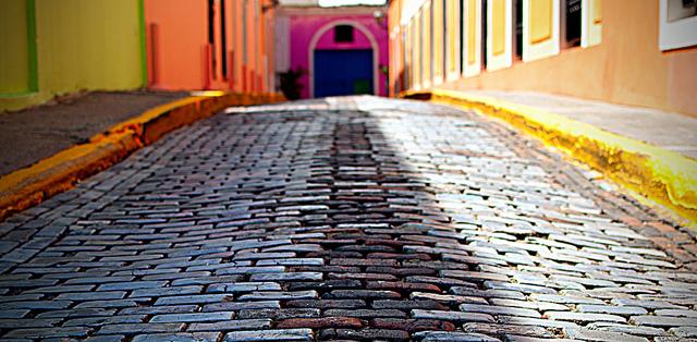 Las resplandecientes calles del Viejo San Juan
