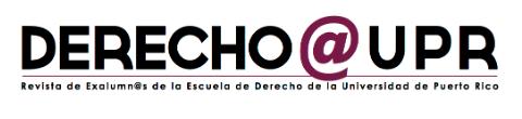 Derecho @ UPR