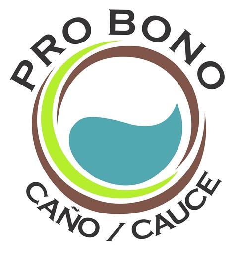 Logo Pro Bono Caño/Cauce