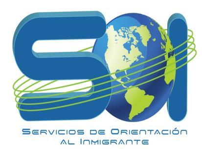 Logo Servicios de Orientación al Inmigrante