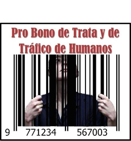 Logo Pro Bono de Trata y de Tráfico de Humanos