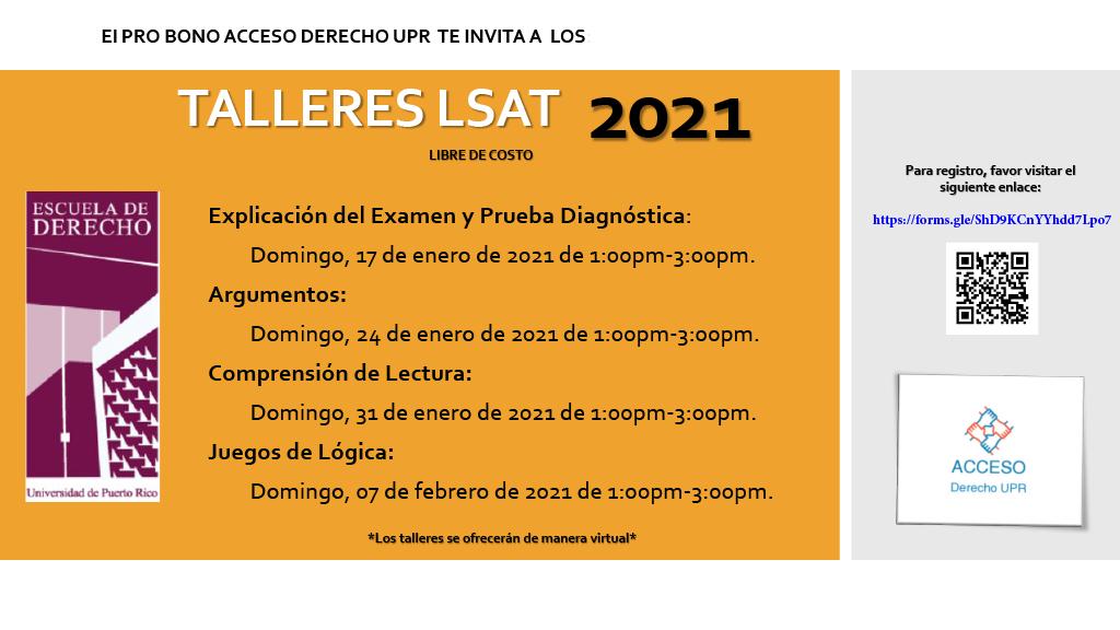 Repaso LSAT- Pro Bono Acceso Derecho