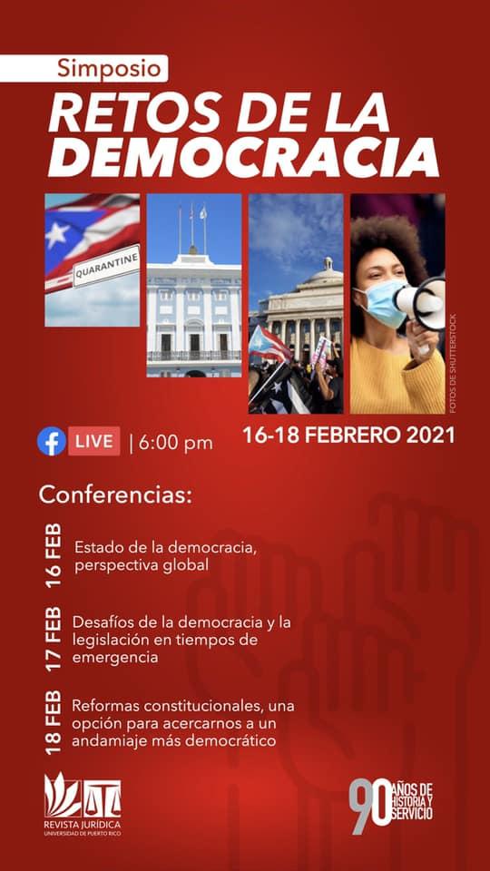 Simposio Retos de la democracia puertorriqueña