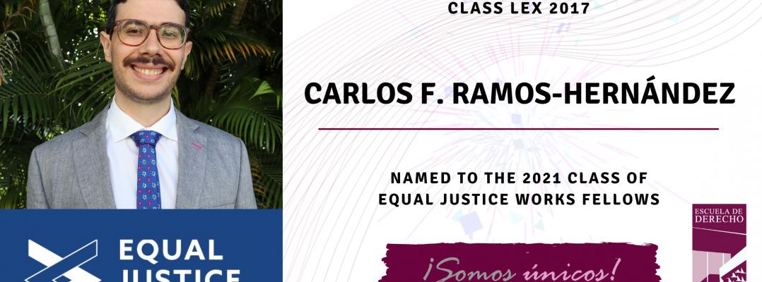 Egresado de Derecho UPR es seleccionado como Equal Justice Fellow 2021; Trabajará con iniciativa a favor del acceso a la información en el CPI