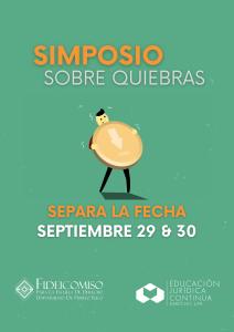 (EJC) Simposio de Quiebra Vía ZOOM (SAVE THE DATE)