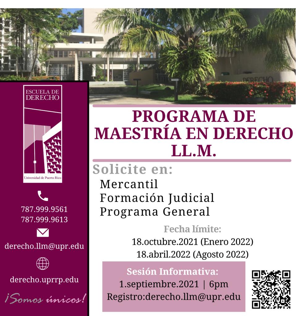 Sesión Informativa Programa LL.M.